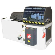 Circular saw / for aluminum / with cooling system / automatic