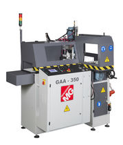 Vertical cut-off saw / automatic / for aluminum cutting