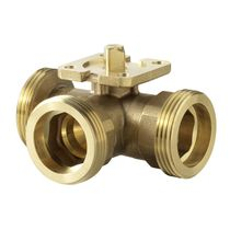Ball valve / control / for water / threaded