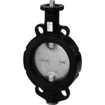 Butterfly valve / shut-off / for hot water / wafer