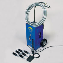 Water vacuum cleaner / single-phase / mobile
