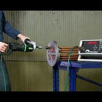 Tube expanding machine torque controller