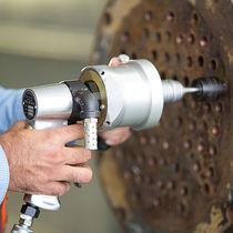 Rotary piston air motor / exchanger tube