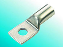 Ring solderless terminal / tubular / non-insulated / stainless steel