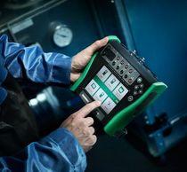 Temperature calibrator / pressure / multifunction / portable