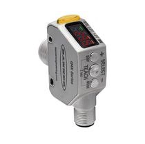 Laser distance sensor / analog / rugged / compact