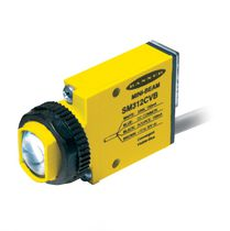 Through-beam photoelectric sensor / diffuse reflective / polarized retroreflective / rectangular