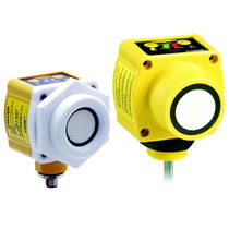 Ultrasonic distance sensor / rugged / analog / programmable