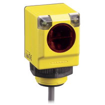 Through-beam photoelectric sensor / diffuse reflective / with background suppression / retroreflective