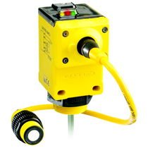 Ultrasonic distance sensor / with analog output / programmable / with digital output