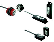 Single-pole switch / magnetic / safety / compact