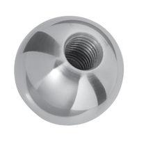 Ball knob / brass / threaded