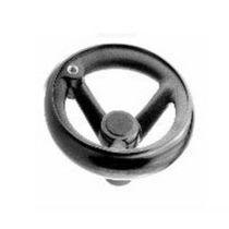 Operating handwheel / three-arm / spoked / nylon