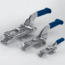 Horizontal toggle clamp / latch type