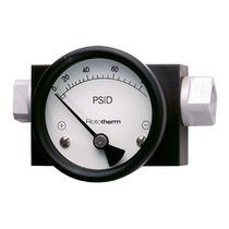 Differential-pressure pressure gauge / piston type / dial / process