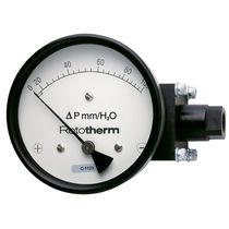 Diaphragm pressure gauge / differential-pressure / dial / process