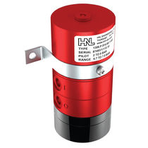 Mechanical pressure switch / for gases / compact