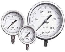 Pressure gauge / Bourdon tube / dial / process