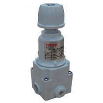 Air pressure regulator / single-stage / membrane / precision