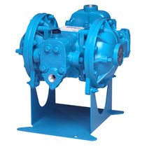 Chemical pump / double-diaphragm / handling / stainless steel