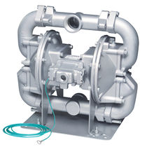 Chemical pump / double-diaphragm / for natural gas / stainless steel