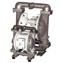 Food product pump / double-diaphragm / for the food and beverage industry / handling