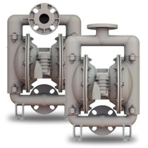 Wastewater pump / self-priming / double-diaphragm / booster