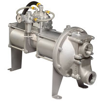 Chemical pump / pneumatic / diaphragm / stainless steel