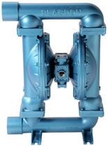 Wastewater pump / pneumatic / double-diaphragm / stainless steel