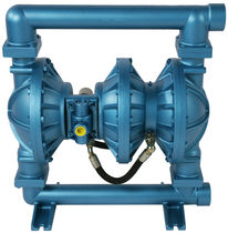 Wastewater pump / pneumatic / double-diaphragm / high-pressure