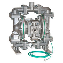 Chemical pump / pneumatic / double-diaphragm / for natural gas