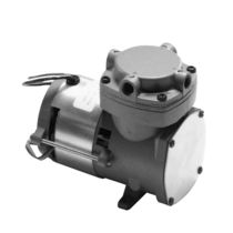 Rotary vane vacuum pump / single-stage / oil-free / industrial
