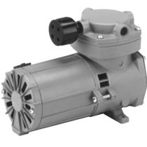 Rocking piston vacuum pump / single-stage / oil-free / for heavy-duty applications