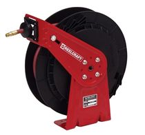 Hose reel / self-retracting / fixed / for water