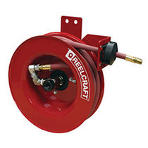 Hose reel / self-retracting / wall-mounted / for water