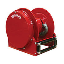 Hose reel / self-retracting / truck-mounted / for water