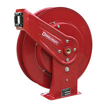 Pressure wash hose reel / self-retracting / fixed / for water