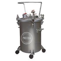 Paint tank / pressure / steel / stainless steel