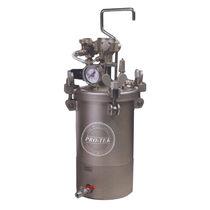 Paint tank / pressure / stainless steel / steel