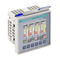 HMI terminal with touch screen / panel-mount / 320 x 240 / VIA