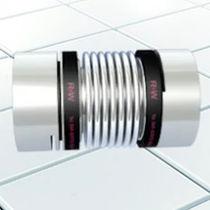 Bellows coupling / backlash-free / miniature / sleeve and shear pin