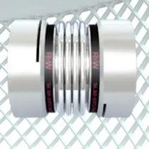 Torsionally rigid coupling / aluminium / backlash-free / miniature