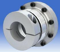 Bellows coupling / metal / maintenance-free / flange