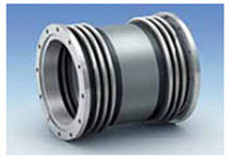 Bellows coupling / metal / for high torque / flange
