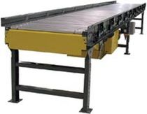 Roller conveyor / horizontal / accumulation / height-adjustable