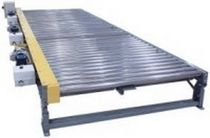 Roller conveyor / horizontal / accumulation
