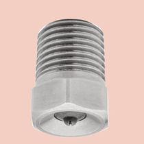 Spraying nozzle / flat / tungsten carbide / stainless steel
