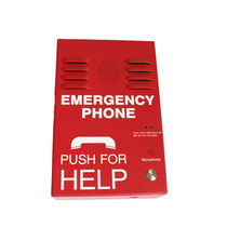 Weatherproof telephone / IP65 / IP55 / emergency