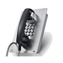Weatherproof telephone / IP65 / auto dial