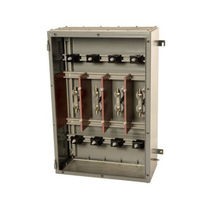 Wall-mounted electrical enclosure / metal / power distribution